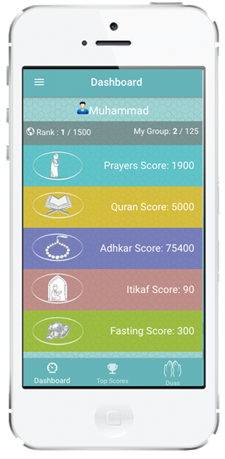 Ramadan Challenge App - Go in for a competition in doing